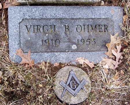 OHMER, VIRGIL - Kalamazoo County, Michigan | VIRGIL OHMER - Michigan Gravestone Photos