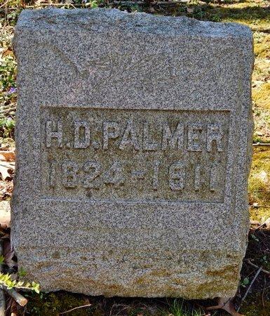 PALMER, HENRY D. - Kalamazoo County, Michigan | HENRY D. PALMER - Michigan Gravestone Photos