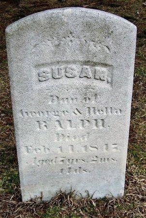 RALPH, SUSAN - Kalamazoo County, Michigan | SUSAN RALPH - Michigan Gravestone Photos