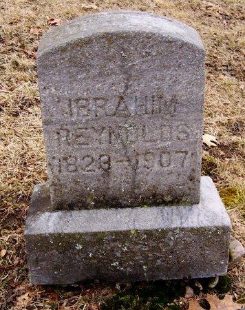 REYNOLDS, IBRAHIM - Kalamazoo County, Michigan | IBRAHIM REYNOLDS - Michigan Gravestone Photos