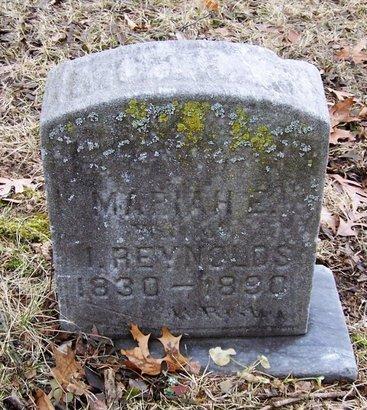REYNOLDS, MARIAH - Kalamazoo County, Michigan | MARIAH REYNOLDS - Michigan Gravestone Photos