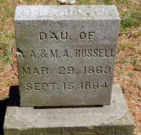 RUSSELL, ALLA - Kalamazoo County, Michigan | ALLA RUSSELL - Michigan Gravestone Photos