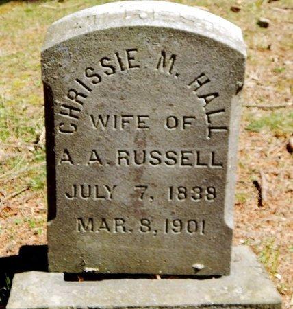 RUSSELL, CHRISSIE - Kalamazoo County, Michigan | CHRISSIE RUSSELL - Michigan Gravestone Photos
