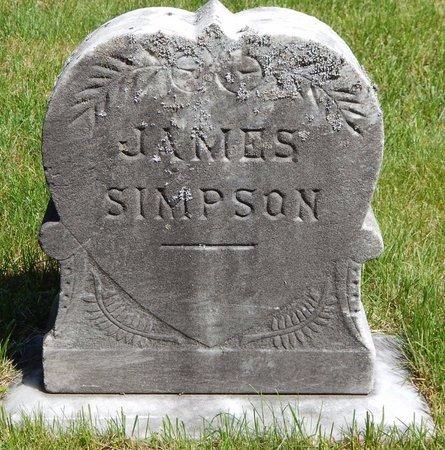 SIMPSON, JAMES - Kalamazoo County, Michigan | JAMES SIMPSON - Michigan Gravestone Photos