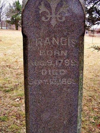 STAFFORD, FRANCIS - Kalamazoo County, Michigan | FRANCIS STAFFORD - Michigan Gravestone Photos