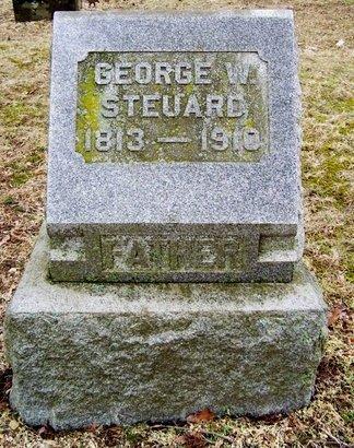 STEUARD, GEORGE W. - Kalamazoo County, Michigan   GEORGE W. STEUARD - Michigan Gravestone Photos