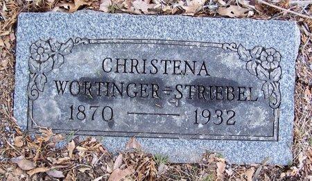 STRIEBEL, CHRISTENA - Kalamazoo County, Michigan | CHRISTENA STRIEBEL - Michigan Gravestone Photos