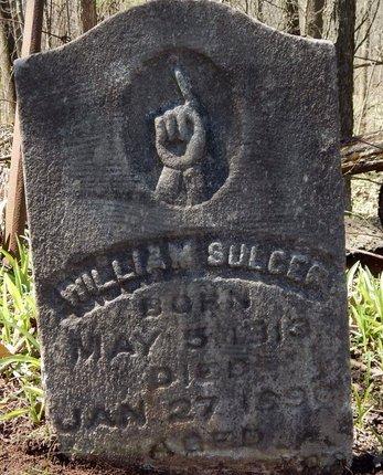 SULCER, WILLIAM - Kalamazoo County, Michigan | WILLIAM SULCER - Michigan Gravestone Photos