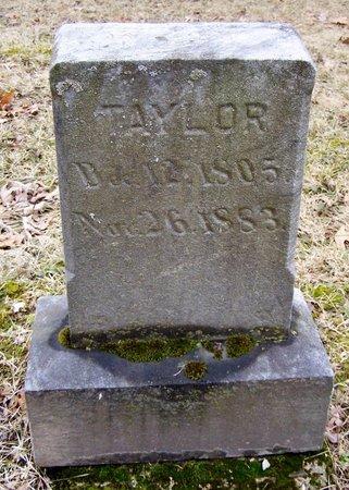 TAYLOR, HANNIBAL - Kalamazoo County, Michigan | HANNIBAL TAYLOR - Michigan Gravestone Photos