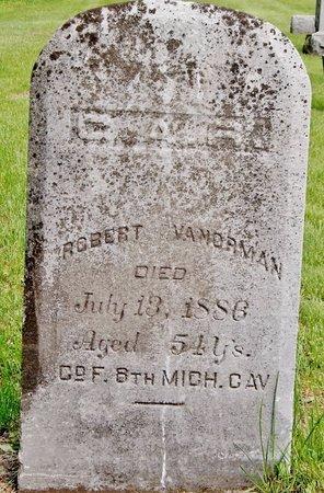 VANORMAN, ROBERT - Kalamazoo County, Michigan | ROBERT VANORMAN - Michigan Gravestone Photos