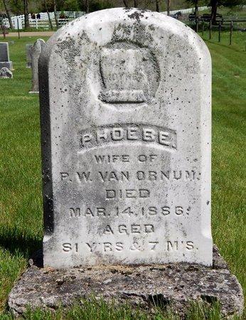 VANORNUM, PHOEBE - Kalamazoo County, Michigan | PHOEBE VANORNUM - Michigan Gravestone Photos