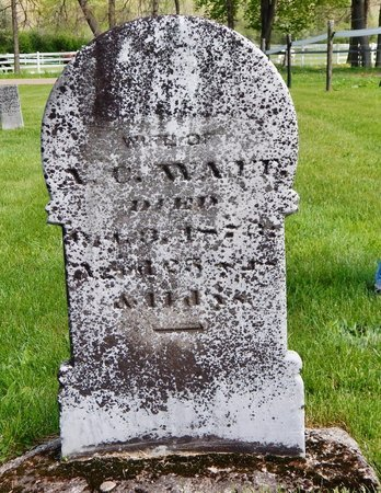 WAIT, MARY - Kalamazoo County, Michigan   MARY WAIT - Michigan Gravestone Photos