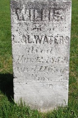 WATERS, WILLIS - Kalamazoo County, Michigan   WILLIS WATERS - Michigan Gravestone Photos