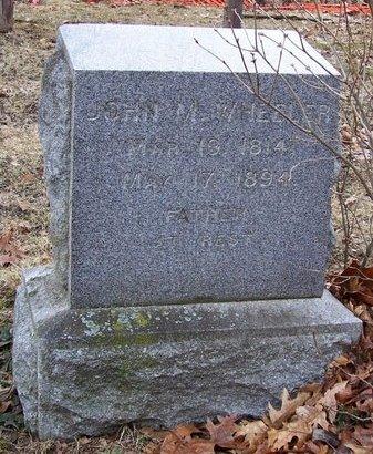 WHEELER, JOHN M. - Kalamazoo County, Michigan   JOHN M. WHEELER - Michigan Gravestone Photos