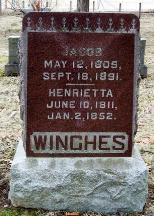 WINCHES, HENRIETTA - Kalamazoo County, Michigan | HENRIETTA WINCHES - Michigan Gravestone Photos