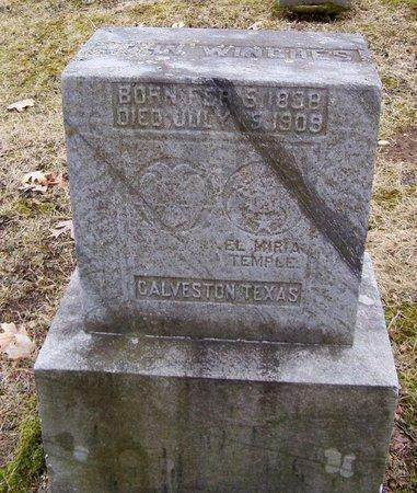 WINCHES, JOHN - Kalamazoo County, Michigan | JOHN WINCHES - Michigan Gravestone Photos