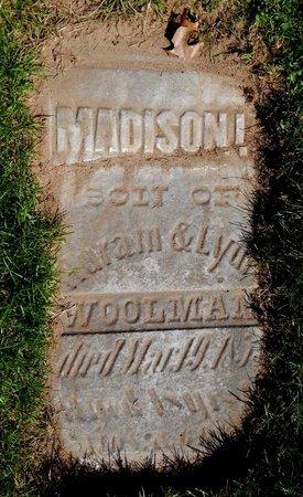WOOLMA, MADISON - Kalamazoo County, Michigan | MADISON WOOLMA - Michigan Gravestone Photos