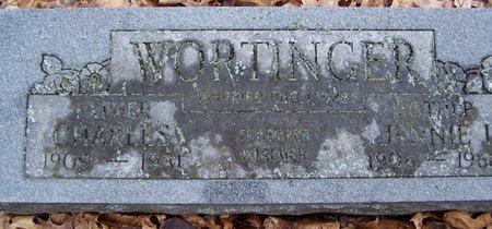 WORTINGER, JENNIE - Kalamazoo County, Michigan | JENNIE WORTINGER - Michigan Gravestone Photos