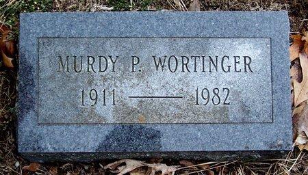 WORTINGER, MURDY - Kalamazoo County, Michigan | MURDY WORTINGER - Michigan Gravestone Photos