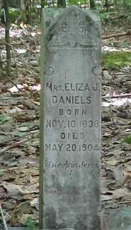 DANIELS, MRS. ELIZA J. - Leelanau County, Michigan   MRS. ELIZA J. DANIELS - Michigan Gravestone Photos