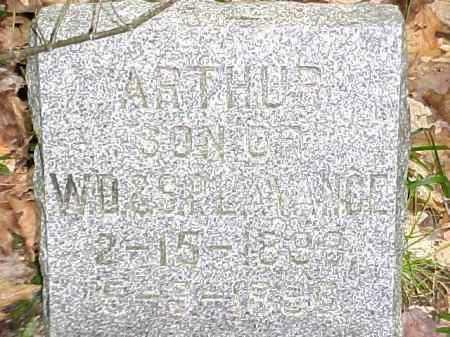 LAVANCE, ARTHUR - Leelanau County, Michigan | ARTHUR LAVANCE - Michigan Gravestone Photos