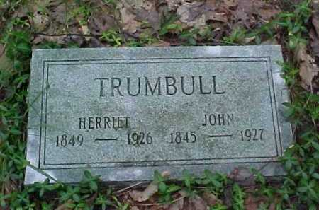 TRUMBULL, JOHN - Leelanau County, Michigan | JOHN TRUMBULL - Michigan Gravestone Photos