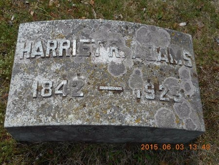ADAMS, HARRIET R. - Marquette County, Michigan | HARRIET R. ADAMS - Michigan Gravestone Photos