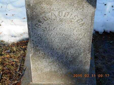 ADDISON, GEORGE - Marquette County, Michigan | GEORGE ADDISON - Michigan Gravestone Photos