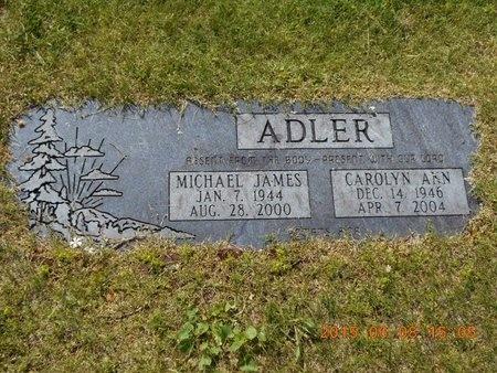 ADLER, MICHAEL JAMES - Marquette County, Michigan | MICHAEL JAMES ADLER - Michigan Gravestone Photos