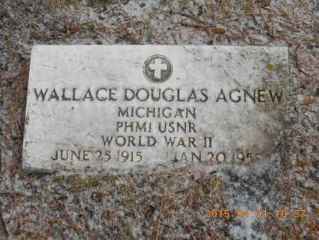 AGNEW, WALLACE DOUGLAS - Marquette County, Michigan   WALLACE DOUGLAS AGNEW - Michigan Gravestone Photos
