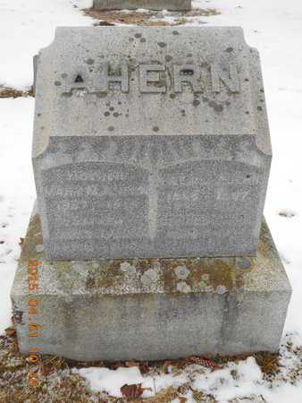 AHERN, FAMILY - Marquette County, Michigan   FAMILY AHERN - Michigan Gravestone Photos