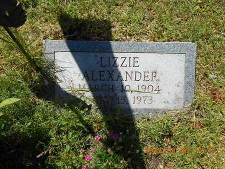 ALEXANDER, LIZZIE - Marquette County, Michigan | LIZZIE ALEXANDER - Michigan Gravestone Photos