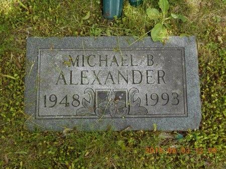 ALEXANDER, MICHAEL B. - Marquette County, Michigan   MICHAEL B. ALEXANDER - Michigan Gravestone Photos