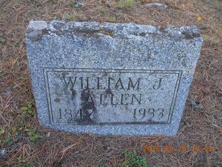 ALLEN, WILLIAM J. - Marquette County, Michigan   WILLIAM J. ALLEN - Michigan Gravestone Photos