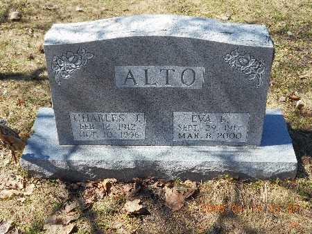 ALTO, CHARLES J. - Marquette County, Michigan | CHARLES J. ALTO - Michigan Gravestone Photos