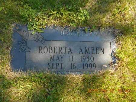 AMEEN, ROBERTA - Marquette County, Michigan | ROBERTA AMEEN - Michigan Gravestone Photos