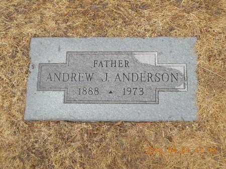 ANDERSON, ANDREW J. - Marquette County, Michigan | ANDREW J. ANDERSON - Michigan Gravestone Photos