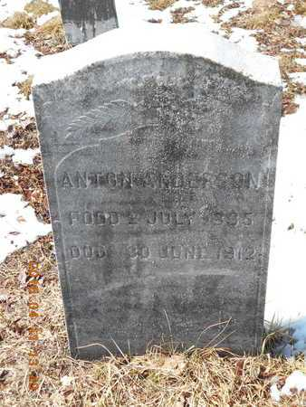 ANDERSON, ANTON - Marquette County, Michigan | ANTON ANDERSON - Michigan Gravestone Photos