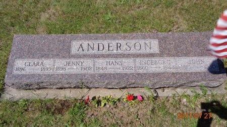ANDERSON, INGEBORG - Marquette County, Michigan | INGEBORG ANDERSON - Michigan Gravestone Photos
