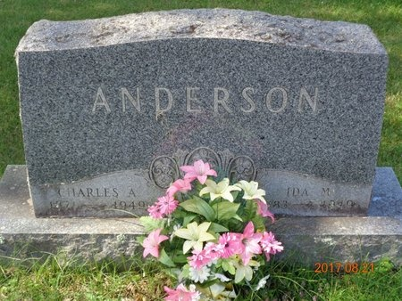 ANDERSON, CHARLES A. - Marquette County, Michigan | CHARLES A. ANDERSON - Michigan Gravestone Photos