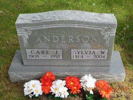 ANDERSON, SYLVIA W. - Marquette County, Michigan | SYLVIA W. ANDERSON - Michigan Gravestone Photos