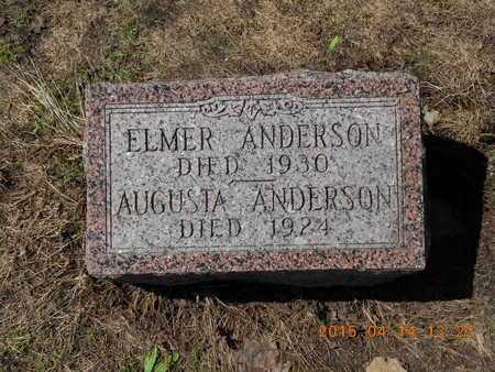 ANDERSON, AUGUSTA - Marquette County, Michigan | AUGUSTA ANDERSON - Michigan Gravestone Photos