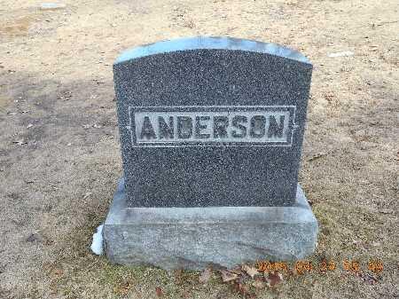 ANDERSON, FAMILY - Marquette County, Michigan | FAMILY ANDERSON - Michigan Gravestone Photos