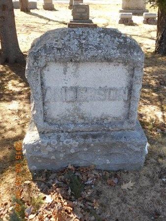 ANDERSON, FAMILY - Marquette County, Michigan   FAMILY ANDERSON - Michigan Gravestone Photos