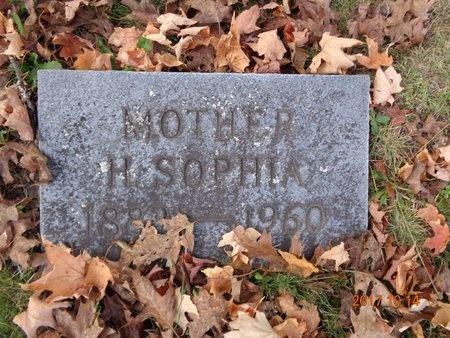 ANDERSON, H. SOPHIA - Marquette County, Michigan   H. SOPHIA ANDERSON - Michigan Gravestone Photos