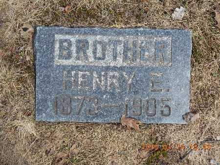 ANDERSON, HENRY E. - Marquette County, Michigan   HENRY E. ANDERSON - Michigan Gravestone Photos