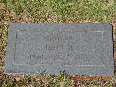 ANDERSON, IMPI A. - Marquette County, Michigan   IMPI A. ANDERSON - Michigan Gravestone Photos