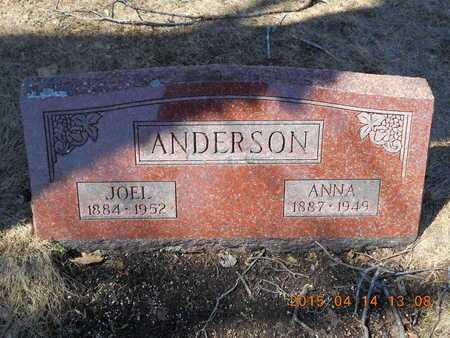 ANDERSON, JOEL - Marquette County, Michigan | JOEL ANDERSON - Michigan Gravestone Photos