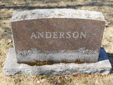 ANDERSON, SOPHIA - Marquette County, Michigan | SOPHIA ANDERSON - Michigan Gravestone Photos