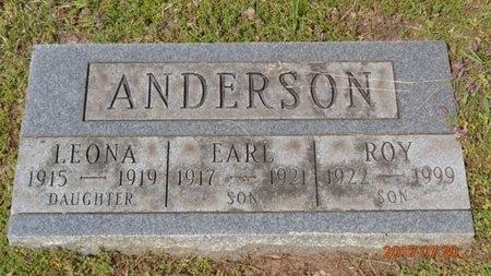 ANDERSON, ROY - Marquette County, Michigan   ROY ANDERSON - Michigan Gravestone Photos